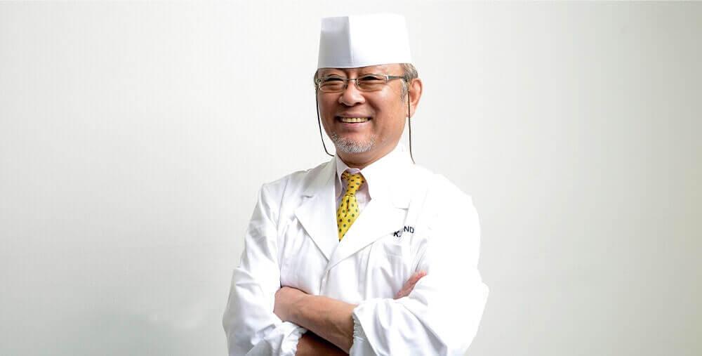 料理の匠近藤先生